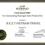 Vé máy bay giá rẻ Etihad Airways