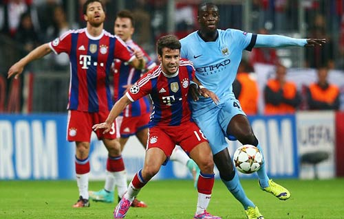 Bayern Munich vất vả thắng Manchester City