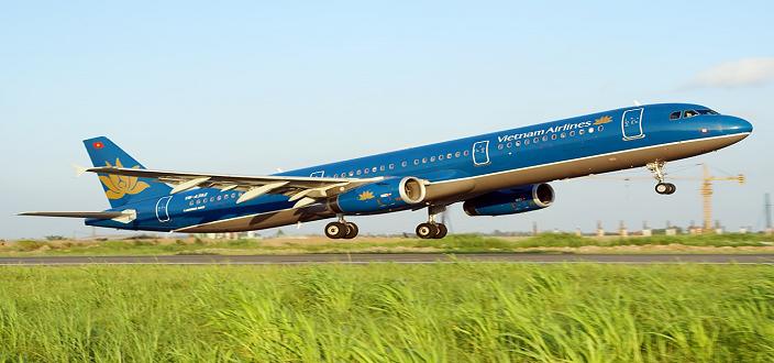 Vé máy bay Vietnam Airlines đi Huế Tết