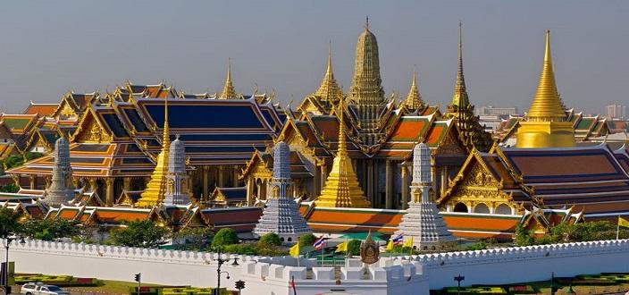 Chùa Wat Phra Keo Thái Lan