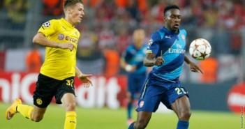 Asernal thua Dortmund