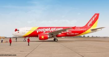 Máy bay giá rẻ Vietjet Air