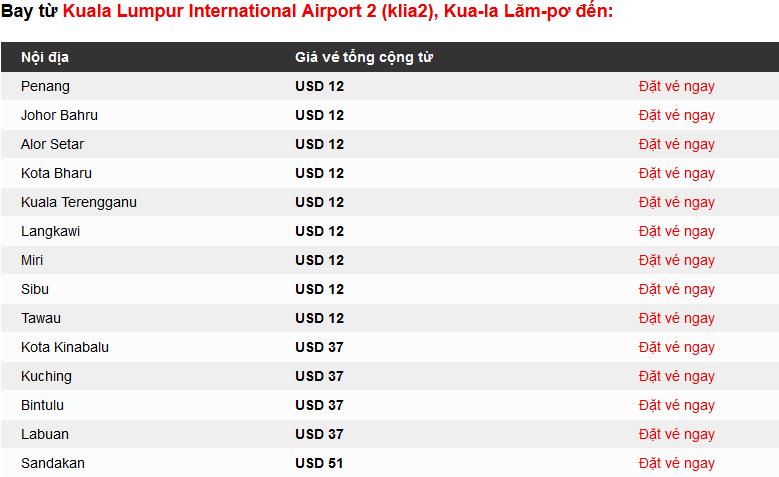 Mua vé máy bay khuyến mại Air Asia