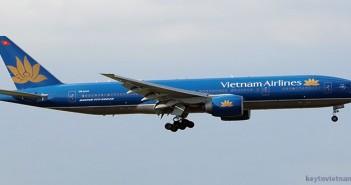 Mua vé máy bay Vietnam Airlines đi London
