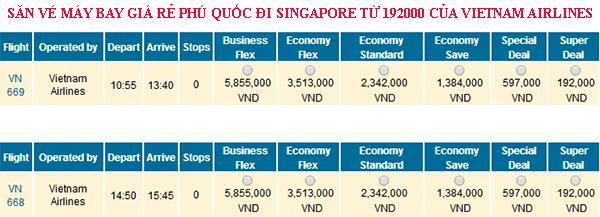 Săn vé máy bay giá rẻ đi Singapore