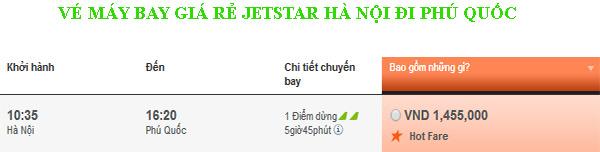 vé máy bay giá rẻ Hà Nội đi Phú Quốc