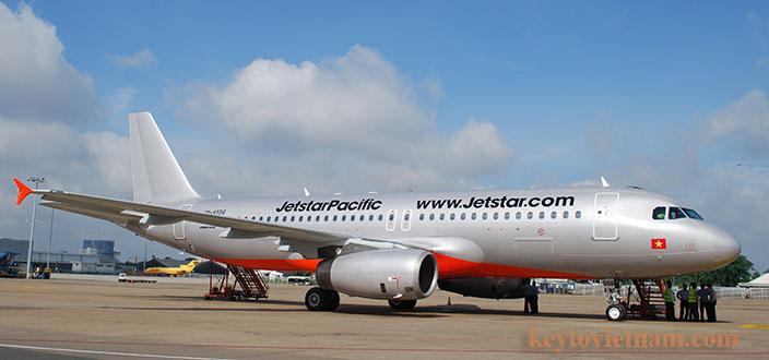 Vé máy bay Sài Gòn Hà nội của Jetstar