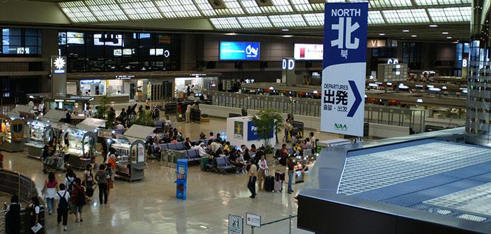 Book vé máy bay giá rẻ đi Nhật sân bay Narita