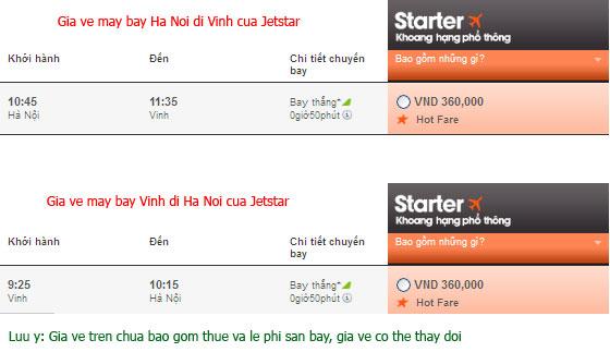 Đặt vé máy bay giá rẻ nhất đi Vinh
