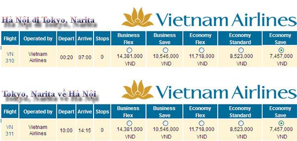 Vé máy bay giá rẻ đi Nhật