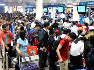 Vé máy bay Tết Vietnam Airlines đi Hà Nội