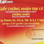 Phòng vé máy bay giá rẻ Vietjet Air