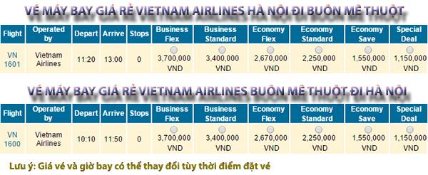 Vé máy bay giá rẻ đi Buôn Mê Thuột