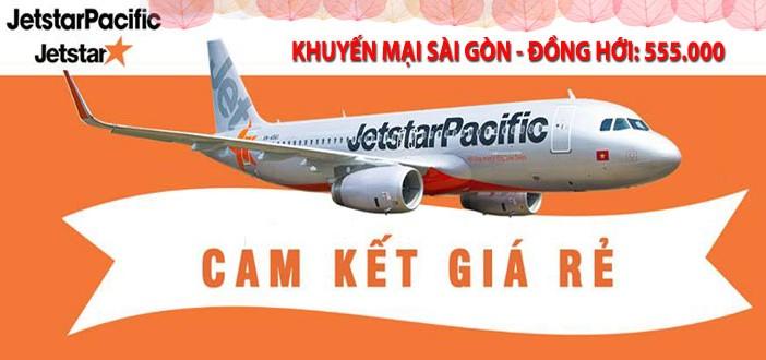 Đặt vé máy bay đi Đồng Hới giá rẻ Jetstar