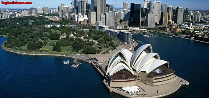 Mua vé máy bay đi Sydney