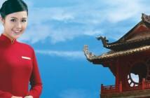 Giá vé máy bay Vietnam Airlines Tết Hà Nội Sài Gòn rẻ nhất