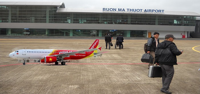 Đặt vé máy bay Buôn Ma Thuột đi Hà Nội Vietjet AIr