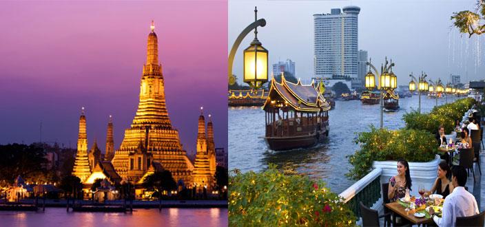 Đặt tour đi Thái Lan Tết tốt nhất
