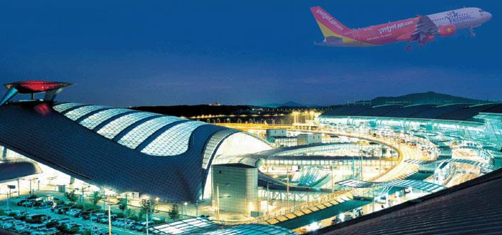 Đặt mua vé máy bay đi Seoul giá rẻ Vietjet Air