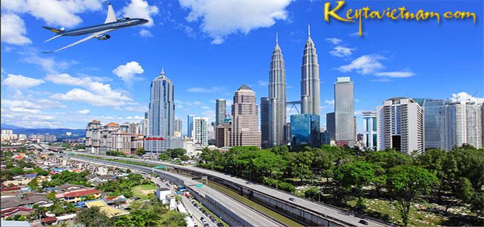 Đặt vé máy bay giá rẻ Hà Nội đi Kuala Lumpur
