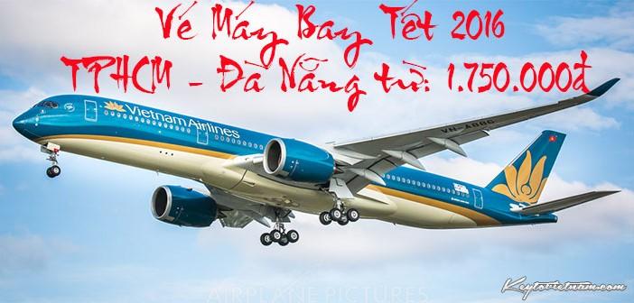 Vé Vietnam Airlines Tết TPHCM đi Đà Nẵng