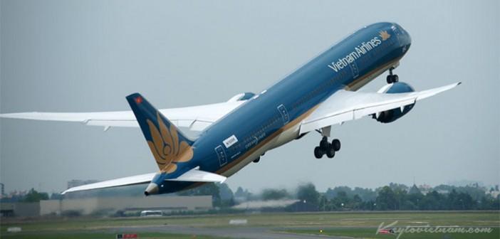 Vietnam Airlines bán vé máy bay Tp Hồ Chí Minh đi Huế Tết