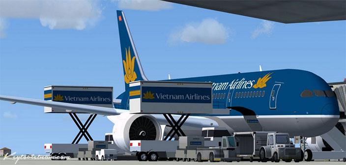 Vé máy bay Vietnam Airlines Hà Nội Sài Gòn khuyến mại 999000 đồng