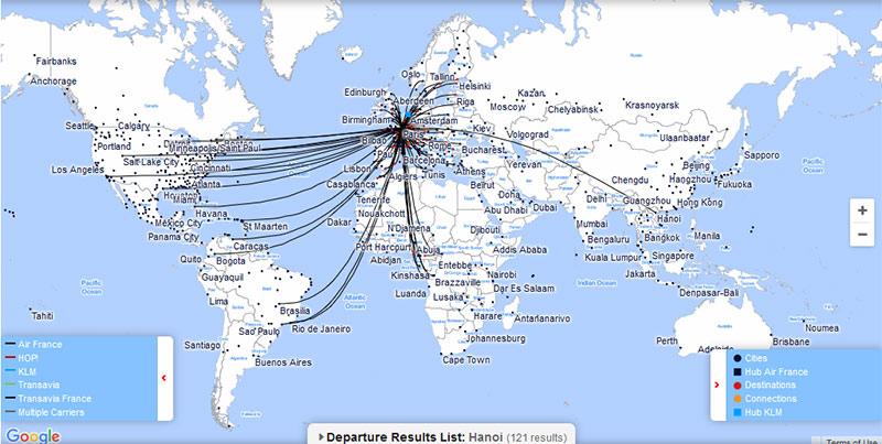 Vé máy bay Air France đi Pháp