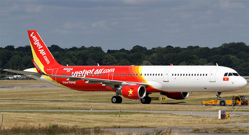 Vé máy bay từ Thanh Hóa vào Sài Gòn giá rẻ Vietjet Air