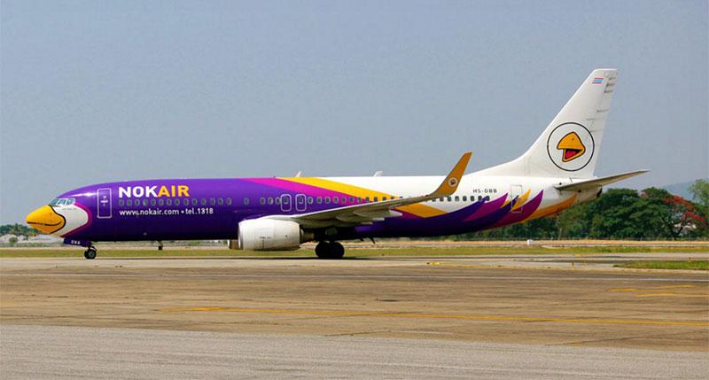 Vé máy bay từ TPHCM đi Bangkok giá rẻ Nok Air