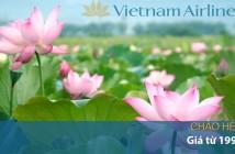 Vé máy bay giá rẻ Vietnam Airlines Chào hè 2016