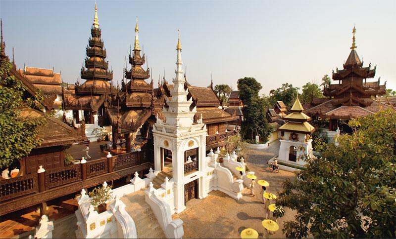 Vé máy bay giá rẻ từ Bangkok đi Chiang Mai hãng Nok Air