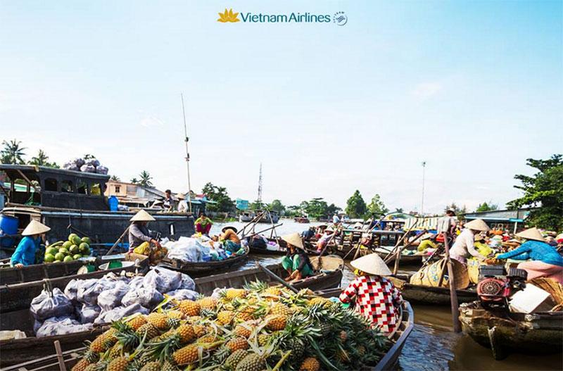 Vé máy bay Cần Thơ đi Phú Quốc giá rẻ Vietnam Airlines