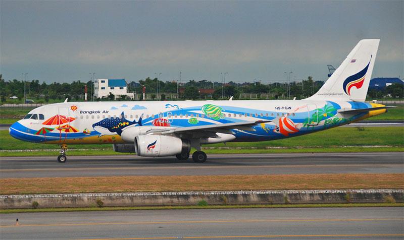 Vé máy bay giá rẻ Đà Nẵng đi Bangkok hãng Bangkok Airways
