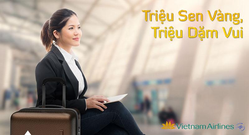 Vé máy bay Vietnam Airlines Nha Trang đi Sài Gòn giá rẻ