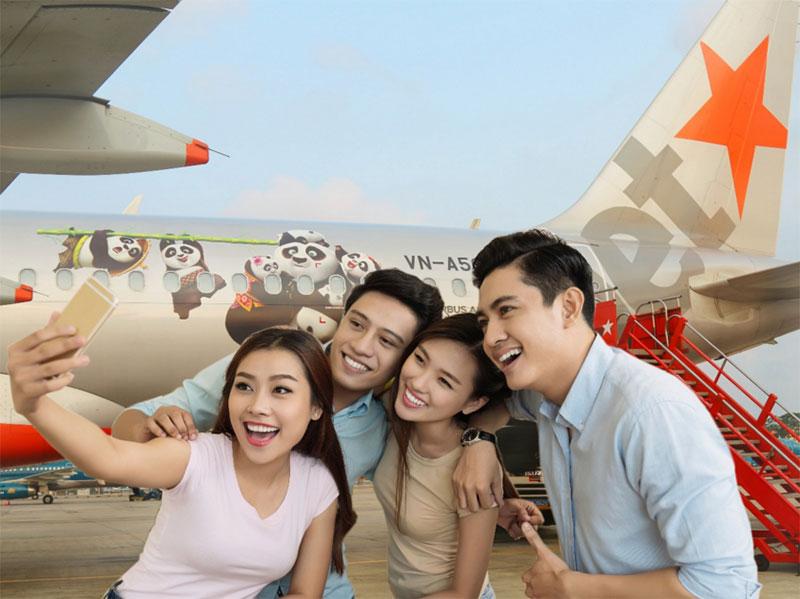 Vé máy bay giá rẻ Sài Gòn Vinh hãng Jetstar giảm giá tới 1220000 đồng
