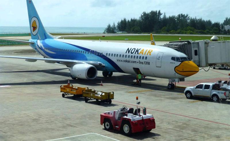 Vé máy bay từ Phuket về Hà Nội giá rẻ Nok Air