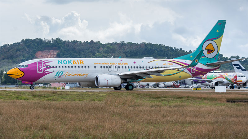 Vé máy bay giá rẻ TPHCM đi Phuket Nok Air