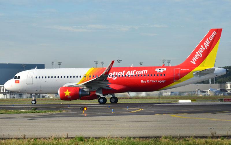 Vé máy bay giá rẻ Chu Lai đi TPHCM Vietjet Air từ 199000 đồng