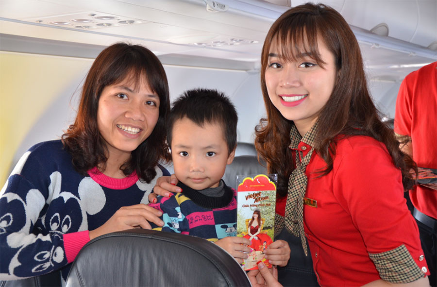 Vé máy bay giá rẻ Pleiku đi Sài Gòn Vietjet Air giá từ 99000 đồng
