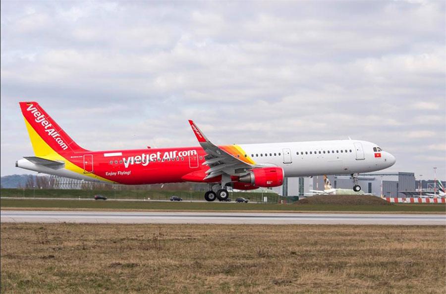 Vé máy bay giá rẻ Quy Nhơn Sài Gòn Vietjet Air chỉ từ 199000 đồng