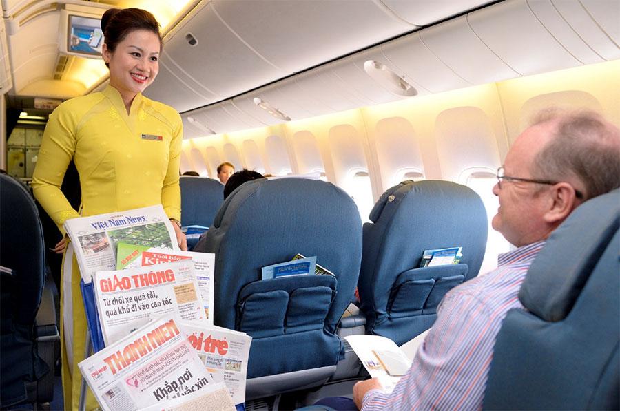 Vé máy bay Vietnam Airlines Hà Nội Chu Lai