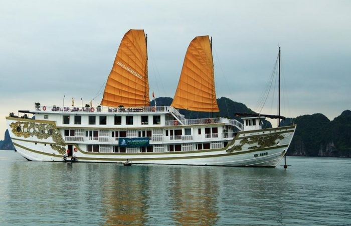 Halong Indochina Junk Cruise 2 days package