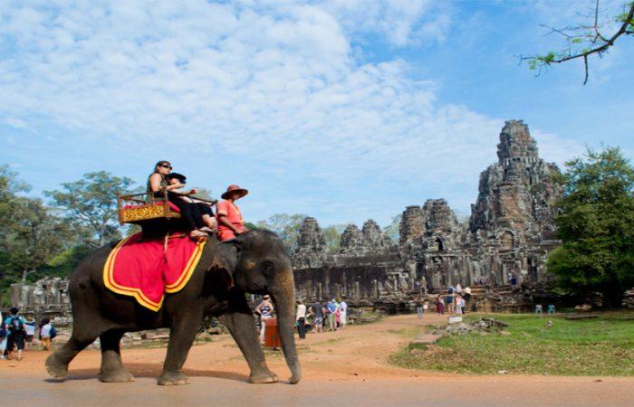 Tour du lịch đi Campuchia 4 ngày giá rẻ bay Vietjet air